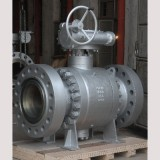 3PC Forged  trunnion mounted ball valve